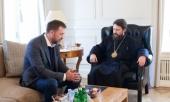 Председатель ОВЦС встретился с депутатом Государственной Думы России Д.В. Саблиным