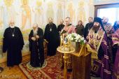 В Минске молитвенно отметили 83-летие почетного Патриаршего экзарха всея Беларуси митрополита Филарета (Вахромеева)