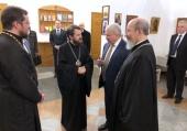 Председатель ОВЦС посетил Посольство России в Китае