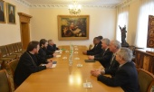 Председатель Отдела внешних церковных связей встретился с руководством баптистских организаций