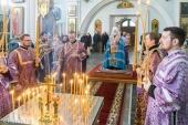 Патриарший экзарх всея Беларуси совершил заупокойную литию по жертвам трагедии в Кемерове
