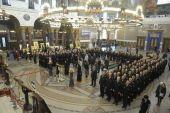 В Петербурге освящены колокола для храма в Сирии