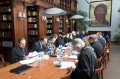 Состоялось очередное заседание комиссии Межсоборного присутствия по вопросам общественной жизни, культуры, науки и информации