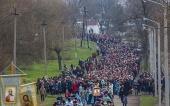 В праздник Феодоровской иконы Божией Матери в Измаиле Одесской области состоялся многотысячный крестный ход