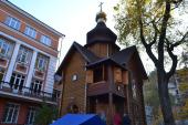 В Киеве вандалы совершили очередной поджог храма Украинской Православной Церкви