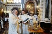 Проповедь Святейшего Патриарха Кирилла в Великую Субботу после Литургии в Храме Христа Спасителя