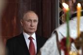 Поздравление Президента России В.В. Путина с праздником Пасхи