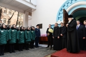 В праздник Светлого Христова Воскресения Святейший Патриарх Кирилл посетил Бутырскую тюрьму