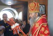 В Светлый вторник Блаженнейший митрополит Киевский и всея Украины Онуфрий освятил храм в Киевской области