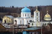 Святейший Патриарх Кирилл посетил возрожденный храмовый комплекс в подмосковном селе Гагино