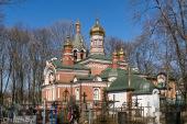 В понедельник Светлой седмицы Патриарший экзарх всея Беларуси совершил Литургию в Александро-Невском храме города Минска