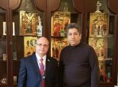 Координатор Межфракционной группы Государственной Думы РФ по защите христианских ценностей посетил Николаевский собор Русской Православной Церкви в Тегеране