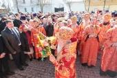 В Светлый понедельник Патриарший наместник Московской епархии посетил Коломну