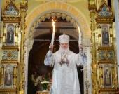 Запись трансляции Пасхального богослужения из Храма Христа Спасителя