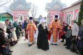 В пятницу Светлой седмицы Патриарший наместник Московской епархии посетил подмосковную деревню Бывалино