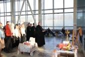 В рамках просветительского проекта «С Богом в дорогу» на Белорусском вокзале в Москве прошла пасхальная встреча