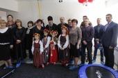 В Находкинской епархии открыт реабилитационный тренажерный зал для детей-инвалидов