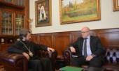 Митрополит Волоколамский Иларион встретился с послом Финляндии в России