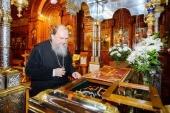 Митрополит Астанайский Александр возглавил торжества по случаю дня памяти преподобного Севастиана Карагандинского