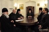 Состоялось экстренное заседание Синода Эстонской Православной Церкви Московского Патриархата