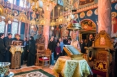 Председатель Синодального отдела по монастырям и монашеству освятил храм в Преображенском скиту Данилова ставропигиального монастыря