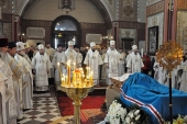У Талліні відбулося прощання з митрополитом Таллінським і всієї Естонії Корнилієм