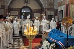 В Таллине прошло прощание с митрополитом Таллинским и всея Эстонии Корнилием