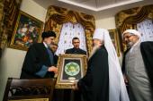 В преддверии XI заседания российско-иранской комиссии по диалогу «Православие — Ислам» глава Татарстанской митрополии встретился с делегацией из Ирана