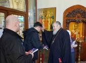 В рамках проекта «С Богом в дорогу» главный редактор Издательства Московской Патриархии провел пасхальную встречу на Киевском вокзале