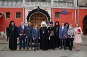 Завершился процесс передачи в собственность Русской Православной Церкви строений Заиконоспасского монастыря Москвы
