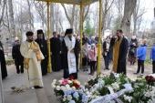 На 9-й день после кончины митрополита Таллинского Корнилия в эстонской столице совершена панихида