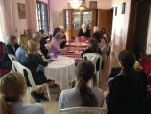 На Бейрутском подворье Московского Патриархата состоялась встреча с богословом протоиереем Геннадием Фастом