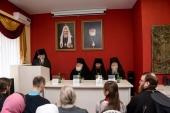 Синодальный отдел по благотворительности провел в Сарапуле обучающий семинар для священнослужителей и социальных работников