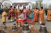 В день 32-й годовщины аварии на ЧАЭС Патриарший экзарх всея Беларуси совершил Литургию в минском храме иконы Божией Матери «Взыскание погибших»