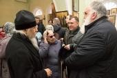 Председатель Синодального отдела по благотворительности посетил общину слепых и слепоглухих людей и другие социальные проекты Сарапульской епархии