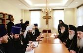 Состоялись братские собеседования Предстоятелей Русской и Албанской Православных Церквей