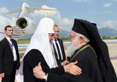 Начался визит Святейшего Патриарха Кирилла в Албанскую Православную Церковь