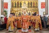 В день памяти святых Виленских мучеников Патриарший экзарх всея Беларуси совершил Литургию в Петропавловском соборе города Минска
