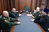 Представители Росгвардии и Синодального отдела по взаимодействию с Вооруженными силами обсудили вопросы сотрудничества