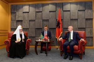 Состоялась встреча Святейшего Патриарха Кирилла с Президентом Албании