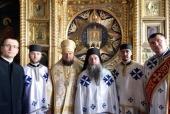 На Афоне прошли переговоры по вопросу принесения в Белоруссию честной главы великомученика Пантелеимона