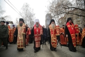 Более 1500 человек приняли участие в крестном ходе в честь 100-летия прибытия Царской семьи в Екатеринбург