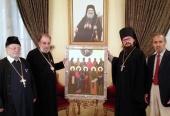 Иконописцы Московской духовной академии написали для монастыря в Маалюле икону Дамасских святых