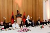 Президент Албании Илир Мета дал прием в честь Предстоятеля Русской Православной Церкви