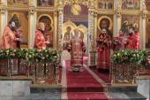 Патриарший наместник Московской епархии совершил Литургию в Богоявленском соборе подмосковного Ногинска