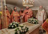 В Троице-Сергиевой лавре молитвенно почтили память Патриарха Пимена
