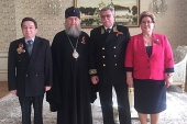 Состоялась встреча митрополита Астанайского Александра с генеральным консулом Российской Федерации в Алма-Ате А.М. Деминым
