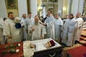 В Александро-Невской лавре состоялось отпевание Патриаршего архидиакона Андрея Мазура