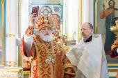 В Неделю о самаряныне Патриарший экзарх всея Беларуси совершил Литургию в Свято-Духовом кафедральном соборе Минска