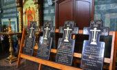 В Свято-Успенской Саровской пустыни освятили памятные знаки репрессированным священнослужителям